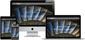 Website van Blikopener Fotografie