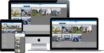 Website van Kantoorverhuur Rijnmond