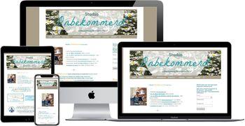 Website van Studio Onbekommerd