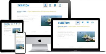 Website van Tebeton